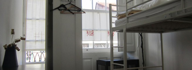 Standard Female Dorm 2 Beds With Shared WC and Balcony